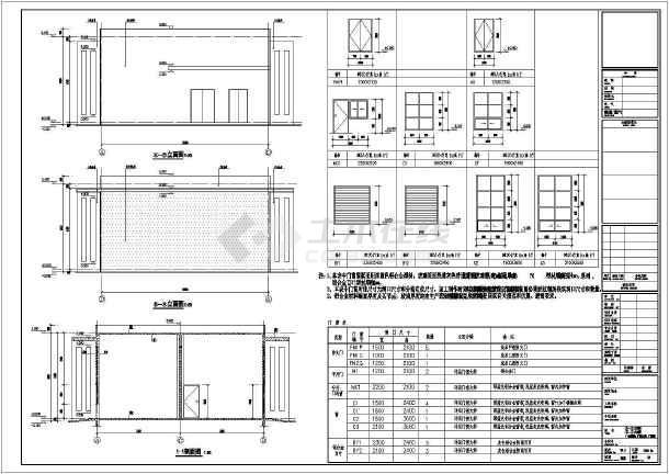 某厂区v厂区环艺,配电房建筑设计施工图机房设计院图片