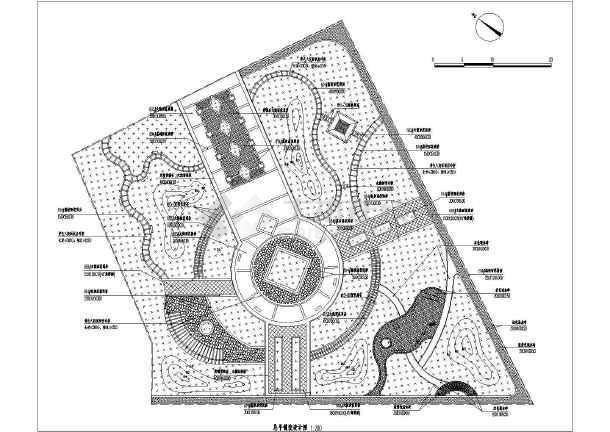 广场景观平面设计图