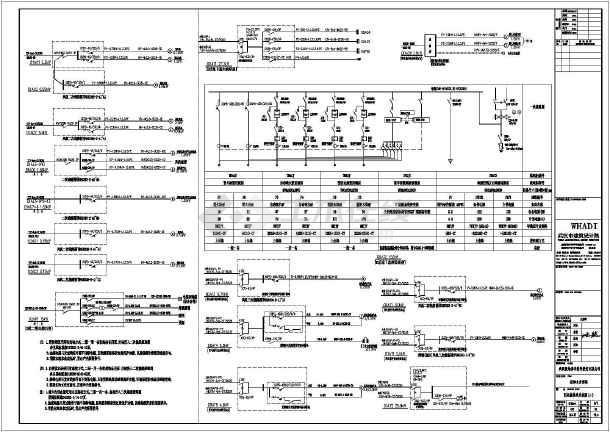 武汉极地海洋世界海洋馆电气设计图纸