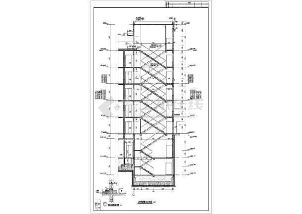 各层平面图,屋顶平面图,各立面图,各剖面图,楼梯及电梯大样,墙身大样