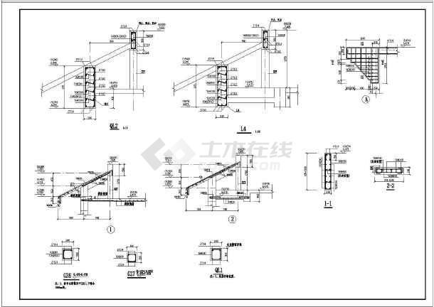 某三层民用砖混结构住宅工程图纸结构全套图纸加工设备