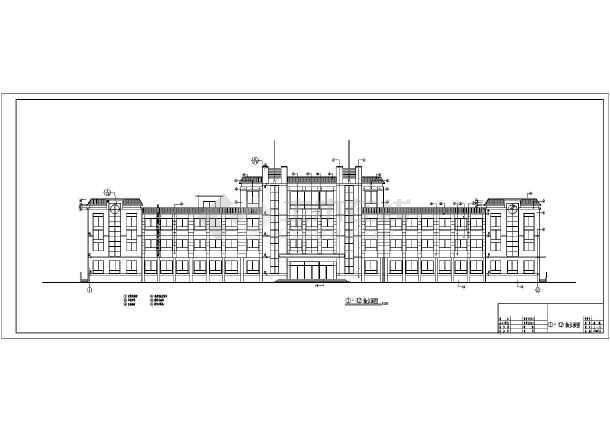 某地14所小学建筑楼设计施工图纸