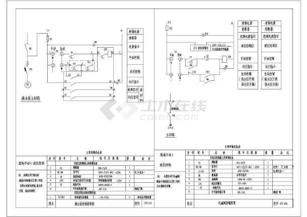 图纸常用、水泵控制风机图_cad图纸下载自行车cad原理设计图片