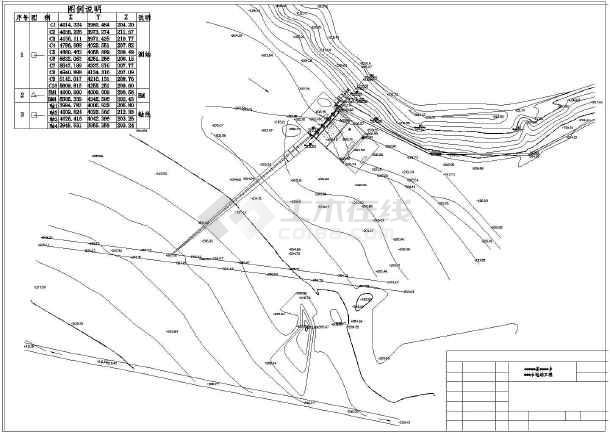某水电站全套招标设计图纸(21张)