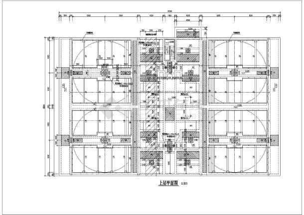 建筑结构模板图