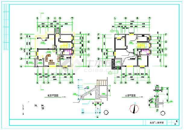 【安徽】某地新型住宅图纸建筑设计施工农村最强-墙电梯附cad图纸0图片