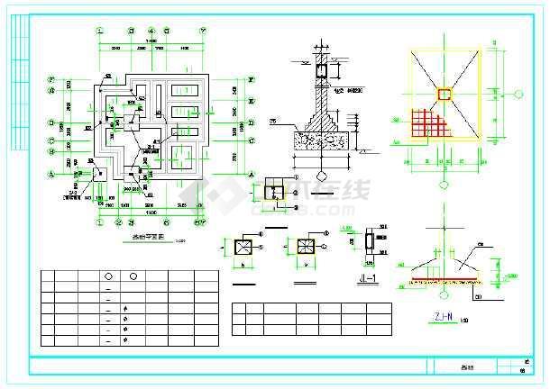 【安徽】某地新型图纸农村建筑设计施工图纸框尺寸住宅图片