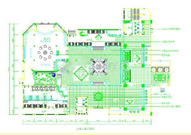 白天鹅宾馆平面图