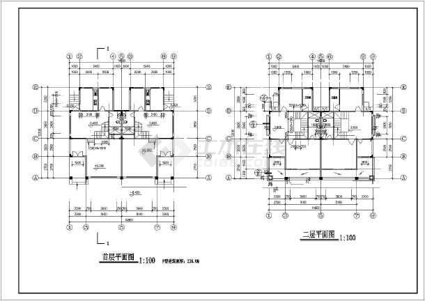 农村三层两间房屋设计图_农村三层两间房屋设