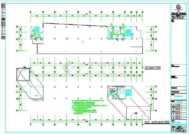 电气12层民用图纸医院设计施工全套(带地下室机装船图纸