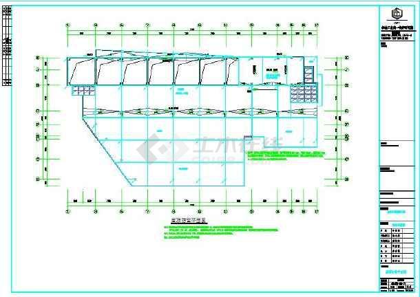 电气12层民用图纸全套施工设计意思(带地下室强电图纸ZFT1,FL1什么是医院