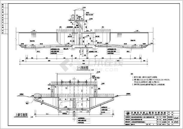 发区结构外v结构黑潴河工程泵站世界图纸水闸_装备3图纸西区龙腾图片