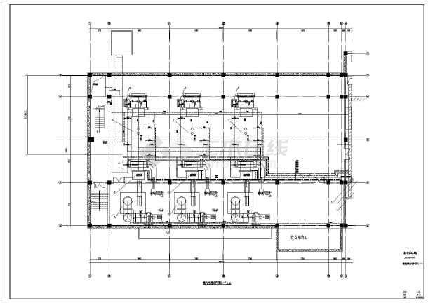 锅炉房换热站生活泵房设计方案图纸图片