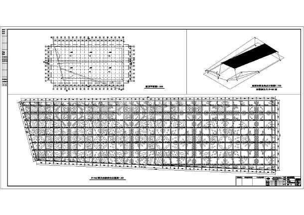 带厂区道路,带门卫室,带厕所的钢结构厂区设计 轻钢结构厂房天沟节点