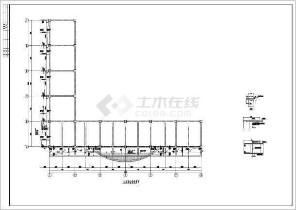某地商场钢结构改造及外立面造型设计图纸