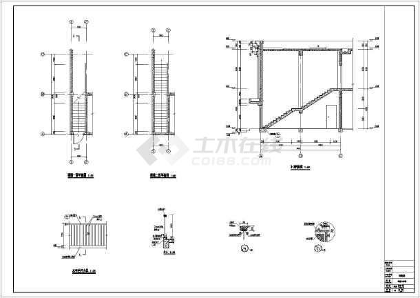 某地二层方案结构配电房建筑设计施工图成都v二层装修设计框架图片