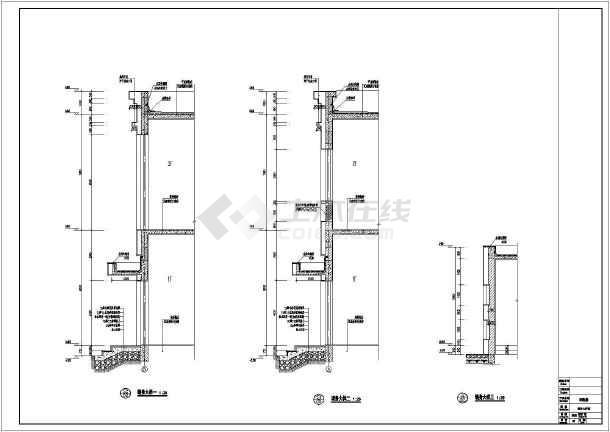 某地结构技校二层配电房建筑设计施工图昌平专业有室内设计框架吗图片