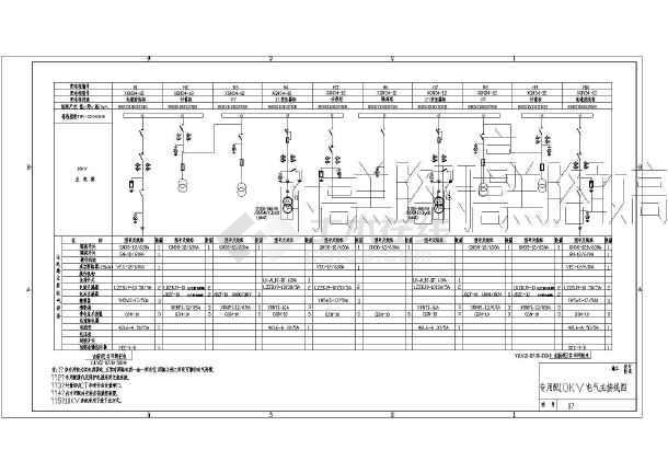 电气原理 高压电气原理图