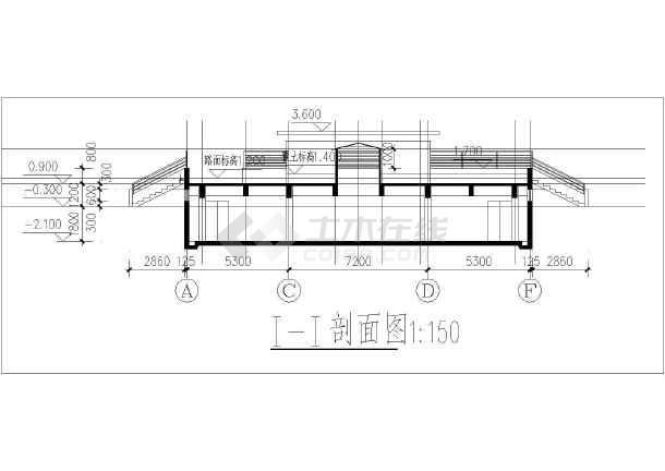 某住宅小区车库地下单层建筑设计施工图建筑设计用得着ipad那图片