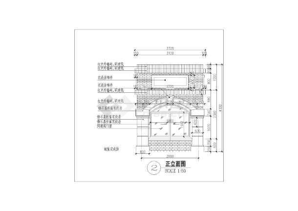简欧式图纸小区门卫室建筑设计施工图滑块分拣机入口图片