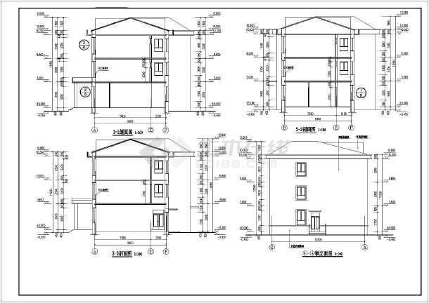 吉林省某三層幼兒園建筑設計施工圖