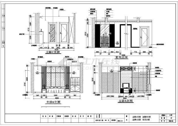 两层欧式风格洋房装修装修设计图纸