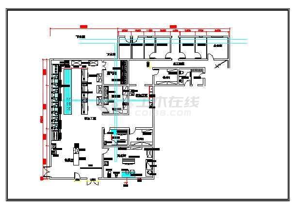 饭店厨房设计平面图