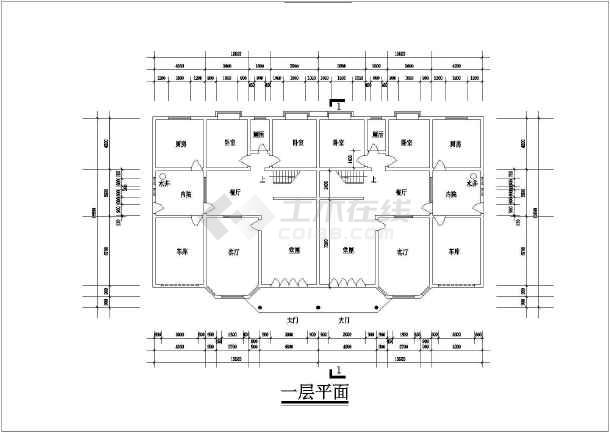 60米农村自建房建筑结构设计图