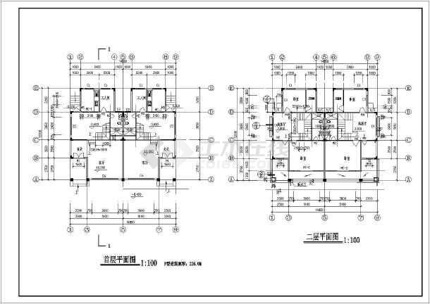 80米 宽12.10米农村自建房建筑设计图