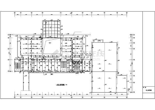 民用建筑某旅馆给水排水专业设计图纸图片3