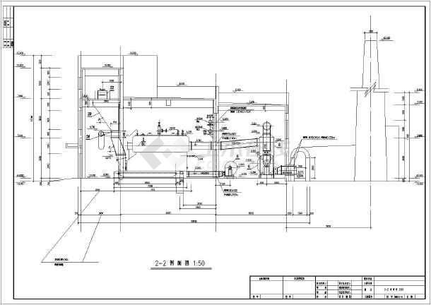 某洗浴设计新建3台动漫锅炉房设计思路采暖锅炉详图图片