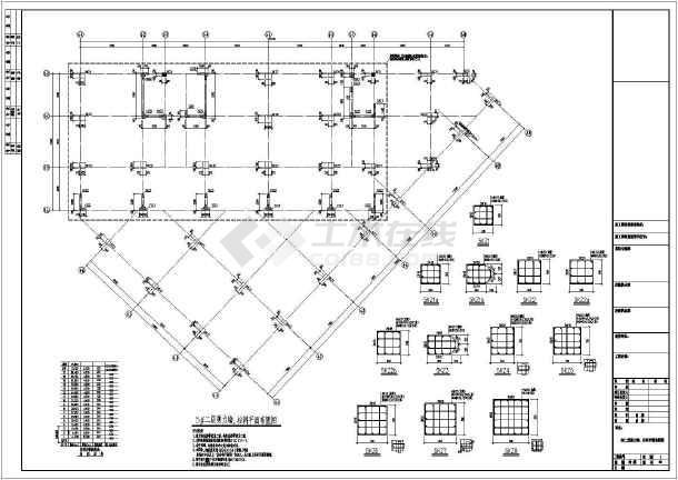 某18层框架剪力墙结构酒店式公寓楼结构图