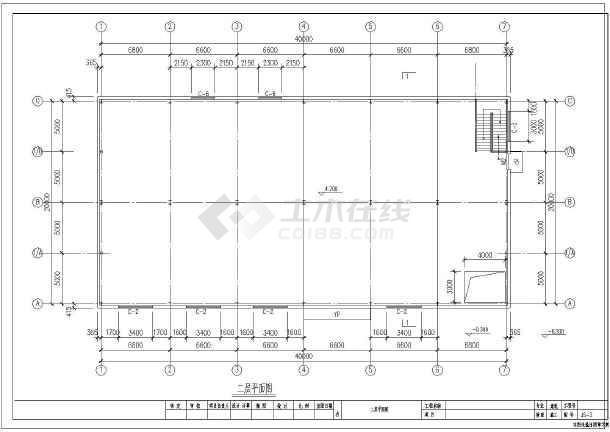 20m跨电气钢结构仓库厂房建筑结构图_cad图热镀锌图纸双层生产线图片