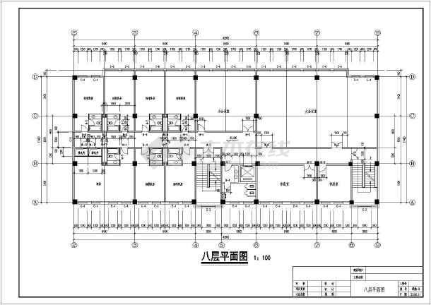宾馆酒店平面设计图纸