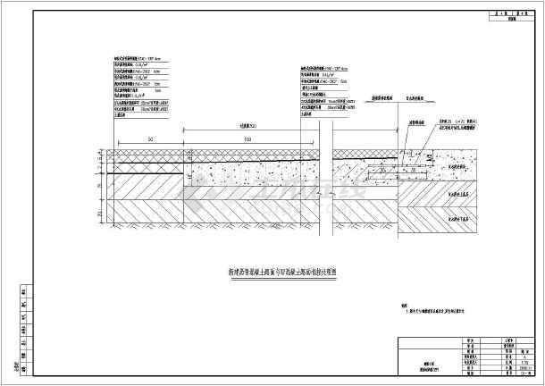 旧砼与沥青路面结构过渡设计