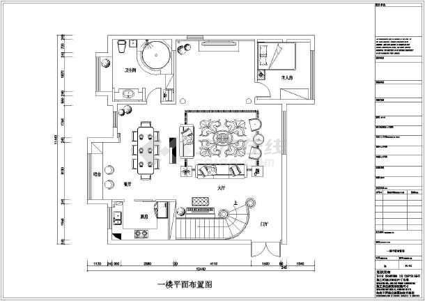 一套详细欧式复式楼装饰装修施工图图片