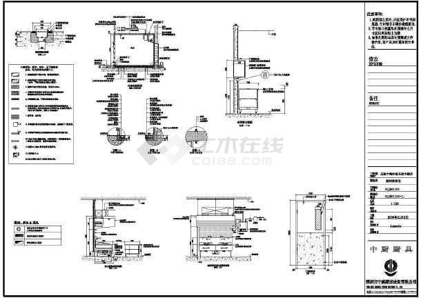 商用厨房设备工程工艺流程设计及相关设备图块集
