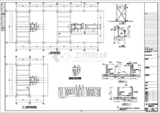 外加钢结构电梯,扶梯结构设计图图片