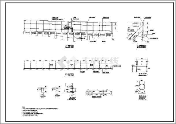 简介:图纸附有结构说明,平面立面图,锚杆挡墙平面布置图及各剖面图和