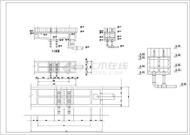 某地氧化沟工艺污水处理厂设计图(毕业设计)_植物立体绿化墙图片