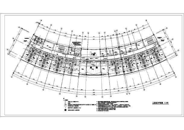 某地三层老干部病房厂房收费施工图电气建筑设计的基本六合无绝对片
