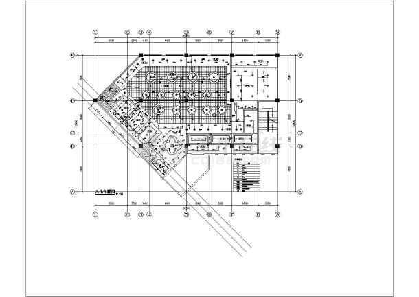 【四川】单层框架结构火锅店室内装修设计施工图