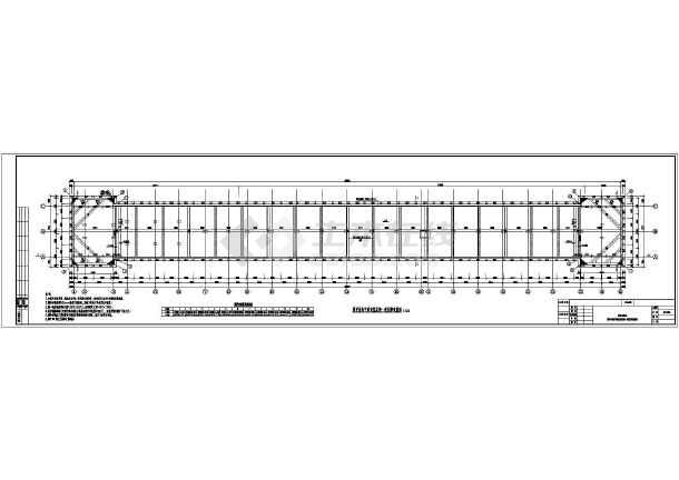 某地铁结构变量围护车站施工图全套_cad图纸cad块基坑图片