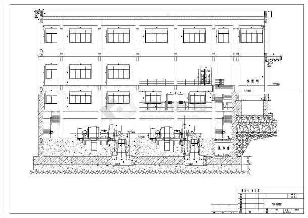 某处全套水电站一次泄水施工图方案图纸图片3