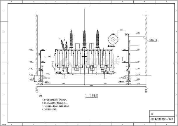 油浸式变压器水喷雾灭火系统全套方案图图片