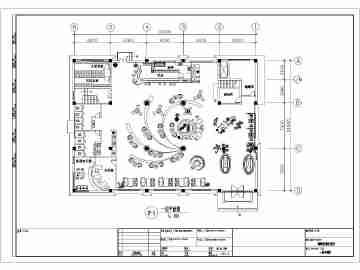 某地三层欧式咖啡厅建筑设计方案图