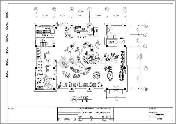 该图为某地三层欧式咖啡厅建筑设计方案图,图纸包括:各层平面图,各图片