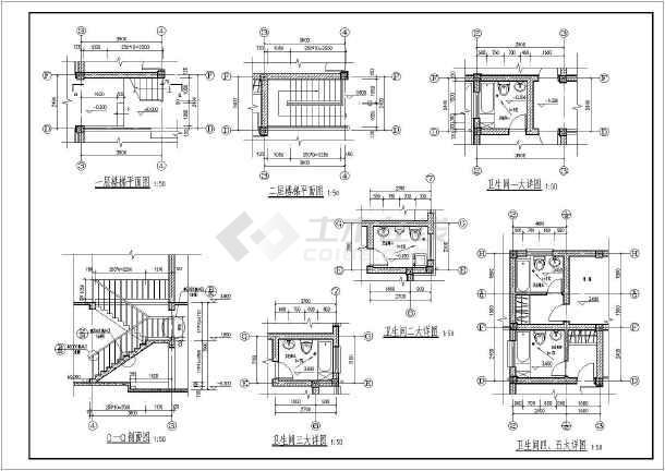 【福建】某二层农村别墅建筑装修施工图
