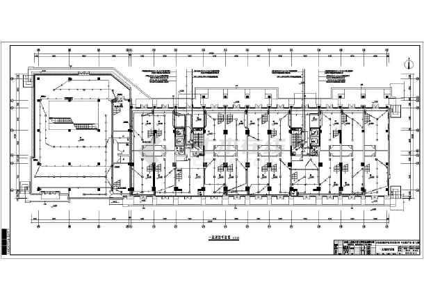 河南省开封市某综合楼电气设计施工图_cad图纸下载
