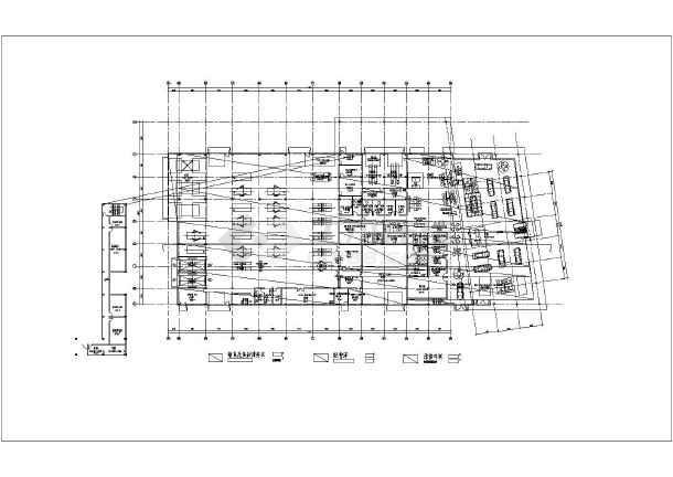 衡阳二层钢结构奔驰4s店建筑设计方案图纸